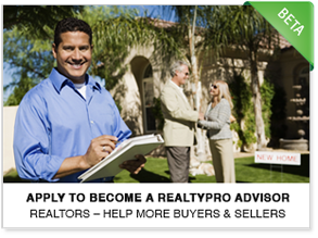 Apply to Become a RealtyPRO™ Advisor