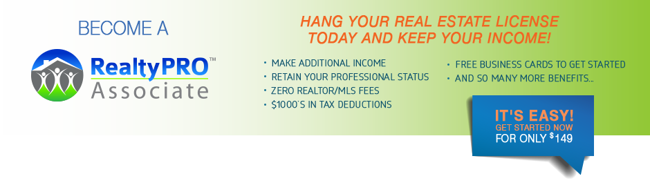 RealtyPRO Network answers the question What else can I do with my real estate license