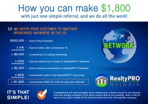 How you can make $1800 on just one real estate referral!