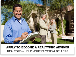 Apply to Become a RealtyPRO® Advisor
